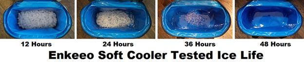 enkeeo soft cooler ice life