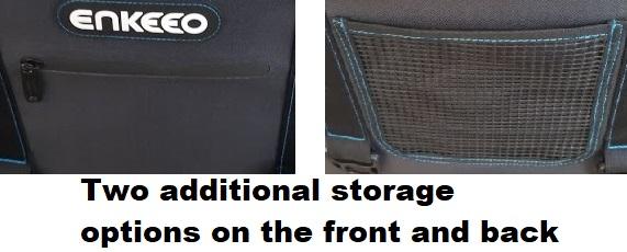 enkeeo soft cooler storage pockets