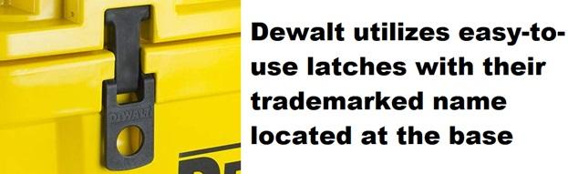 dewalt cooler latches