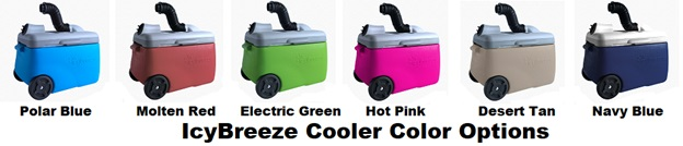 icybreeze cooler color options