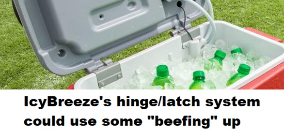 icybreeze cooler latch system