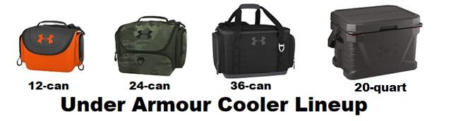 under armour cooler lineup