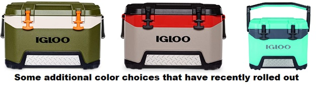 igloo bmx cooler additional color choices