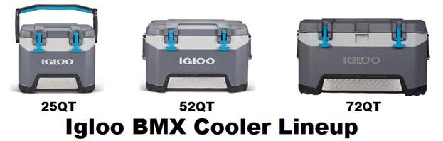 igloo bmx cooler lineup