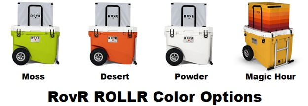 rovr cooler color choices