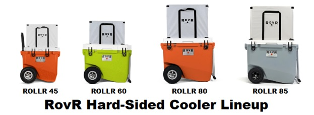 rovr cooler hard-sided lineup