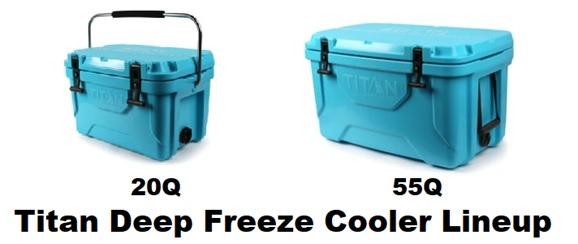Arctic Zone Titan Deep Freeze Cooler Lineup