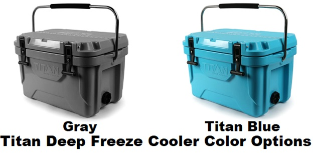 Arctic Zone Titan Deep Freeze Cooler color options