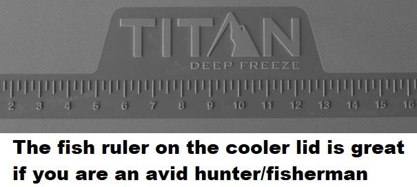 Arctic Zone Titan Deep Freeze Cooler fish scale