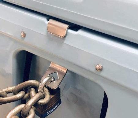 Schmidt Riffer Metalcrafts Lock Bracket with Chain